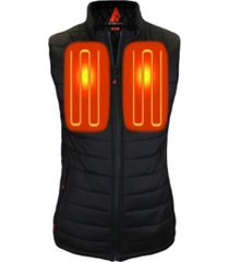 actionheat women's 5v battery heated puffer vest
