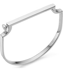 monica vinader signature thin bangle bracelet, size small in silver at nordstrom