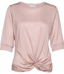 lnmignon draped t-shirt t-shirts & tops short-sleeved rosa lounge nine