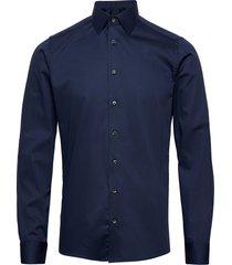 8589 - iver 2 skjorta business blå sand