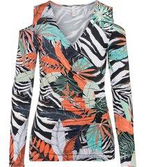 maglia con cut-out (verde) - bodyflirt boutique