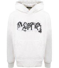 amiri ladies logo hoodie