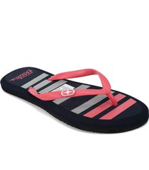 chanclas p/damas  no fear  irina-40-az-35 azul