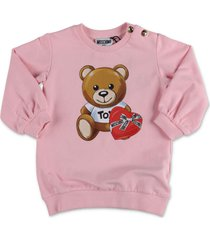 """teddy bear"" sweatshirt jurk"