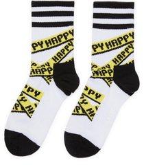 'athletic ribbon' crew socks