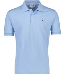 lacoste poloshirt classic fit lichtblauw