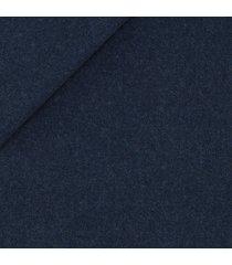 pantaloni da uomo su misura, drago, flanella blu cobalto natural stretch, autunno inverno
