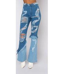 akira dazed for days high waisted flare jeans