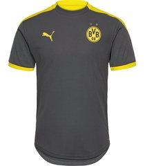bvb training jersey w/ sponsor t-shirts football shirts grå puma