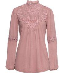 must have: maglia con pizzo (rosa) - bodyflirt