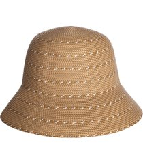 eric javits kimi squishee(r) packable bucket hat in beige mix at nordstrom