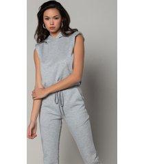 akira as simple as it is padded shoulder sweatshirt