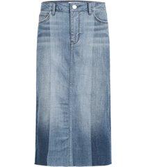 sam edelman denim the maribelle denim midi skirt