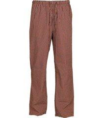 schiesser pyjamabroek rood ruitje