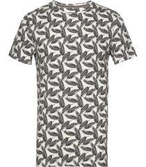tee t-shirts short-sleeved multi/mönstrad blend