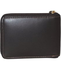 dopp regatta zip-around billfold wallet with zip bill compartment