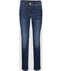 jeans dress in dark blue::gul