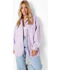 plus oversized gekleurde tussenjas, lilac