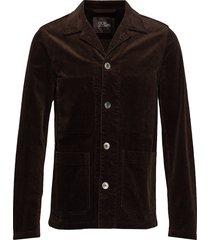 hampus shirt jacket blazer kavaj brun oscar jacobson