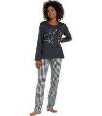 dames pyjama rebelle 21202-401-2-46