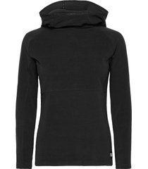 pw solo fleece sweat-shirts & hoodies fleeces & midlayers svart o'neill