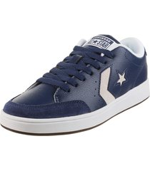 zapatilla azul  converse   star court ox