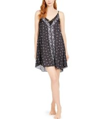 vera bradley sofie lace-trim printed chemise nightgown, online only