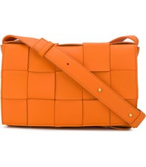 bottega veneta cassette crossbody bag - orange