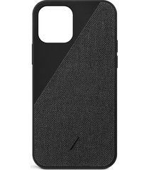 clic canvas iphone 12 pro max case - black