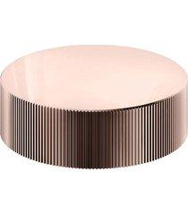 acionamento torneira para banheiro mesa recartilhado mix&match cobre polido - 00917130 - docol - docol