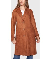 chaqueta ellus camel - calce regular