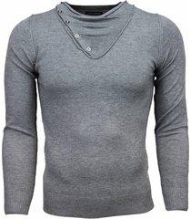 always casual trui grijs