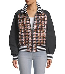 zita plaid jacket