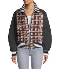 zita plaid jacket