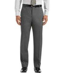 joseph & feiss medium gray wool gabardine dress pants