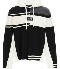 dolce & gabbana wool hoodie