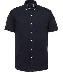 overhemd pique donkerblauw