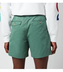 polo ralph lauren men's cotton prepster shorts - washed forest - xl