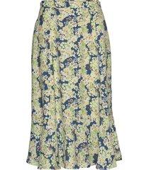 sorrento skirt knälång kjol multi/mönstrad odd molly