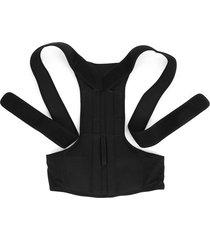 corrector de postura ajustable soporte para hombro dolor de espalda tirante banda unisex cinturón