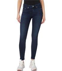 jeans ckj 001 super skinny azul calvin klein