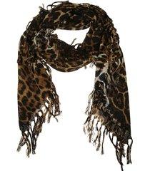 saint laurent leo rustique scarf