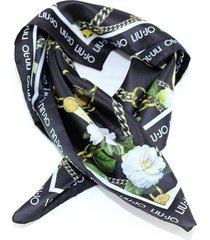 foulard liu jo manhattan a19280 t0300 nero
