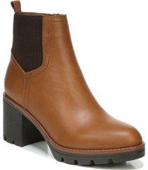 naturalizer verney waterproof lug sole booties women's shoes