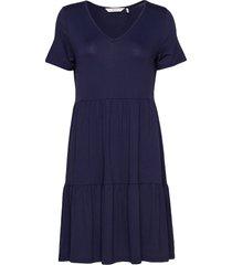 numath dress kort klänning blå nümph