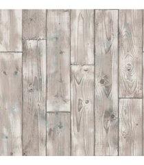 "brewster home fashions niantic drift wood wallpaper - 396"" x 20.5"" x 0.025"""