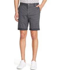 tallia men's houndstooth print shorts