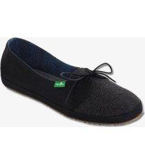 zapatos mujer sanuk zoey black 6