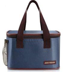 bolsa térmica jacki design essencial iii azul escuro