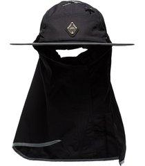 a-cold-wall* shoulder-length visor hat - black